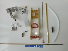 "RC boat complete hardware kit suit 30""-40"" mono Pursuit, Osprey, Delta force etc"