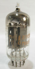 One 1961 RCA 7058 (12AX7,ECC83) tube - 17mmGrayPlates, Angled [ ] Getter
