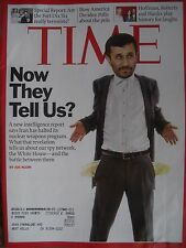 TIME MAGAZINE DECEMBER 17 2007 IRAN HAS HALTED ITS NUCLEAR WEAPONS BY JOE KLEIN