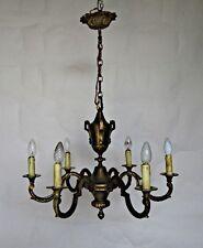 Lustre en bronze 6 lumières