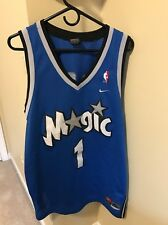 ***TRACY MCGRADY ORLANDO MAGIC JERSEY SIZE XL NIKE SEWN BLUE NBA***