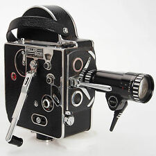 Bolex H8 Movie w SOM Berthiot Pan Cinor 40 F1.9 8-40mm Case Manuals More Bundle