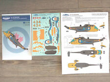 "CH-124 SEA KING ""RCN/50 YEARS SPECIAL"" CANUCK MODEL DECALS 1/48"