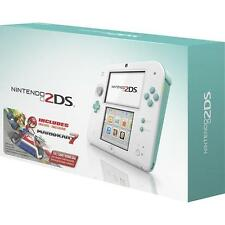 -/*BRAND NEW*- NINTENDO 2DS Video Game Console With Mario Kart 7 - Sea Green!