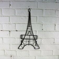 Eiffel Tower Wall Hanging Keys Hanger With Hook Creative Home Accessories Brown