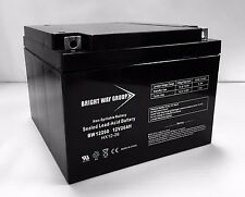 Brightway PS26-12 12V 26AH SEALED 12 VOLT DEEP - CYCLE RECHARGEABLE BATTERY