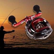 17+1 BB 6.3:1 Right Hand Saltwater Baitcasting Fishing Reel Bait Casting Reels L