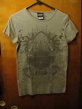 Harley Davidson Motorcycles Las Vegas Nevada T Shirt Gray Ladies Medium