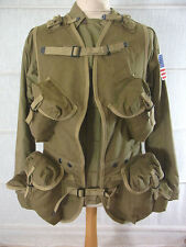 D-Day invasión US Army ww2 Ranger Assault Vest Normandía/landungsweste talla m