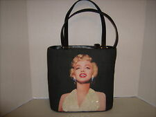 Marilyn Monroe Sequins Bag ,Pearl Earrings Trimmed In Rhinestone