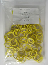 (100) Oystar USA 9411445 Yellow O-Ring Pack of 100