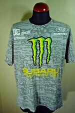 Men's Subaru Monster DC Shoes Ken Block #43 Racing T-Shirt XL Ford