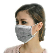 50PC New Disposable Mouth Mask Surgical Medical Dustproof Earloop Mouth Muffle