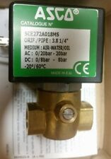 Asco SCE27A018MS24VDC Solenoid Valve