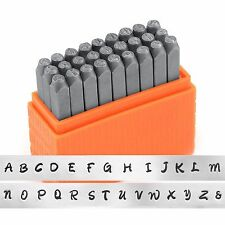 Metal Stamping Kit Uppercase Letter Set Art Tools