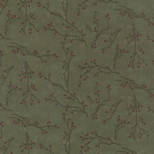 WINTERS SONG 6592 15 Evergreen  by Holly Taylor for MODA 1/2 YARD
