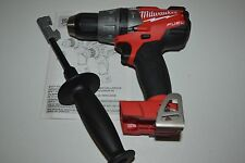 "New Milwaukee Fuel M18 Brushless 2704-20 18V 18 Volt  1/2"" Hammmer Drill Driver"