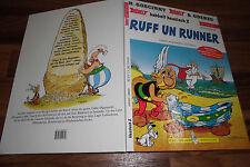 Goscinny/Uderzo -- ASTERIX RUFF un RUNNER // Mundart  26 HC / 1. Auflage 1999