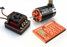 SKYRC Toro 8 X150 150A ESC / X8PT 1950KV BL Motor / Program Card Combo 1/8th Sca