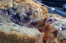 Zucchini Bread W/blueberries, 2 Loaves Handmade Delicious homemade Quality bread