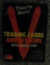 "Unopened Pack 1984 ""V"" They're Here TV Show Cards ~ June Chadwick Marc Singer"