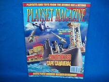 Playset Magazine #37 Marx Cape Canaveral with submarine+MPC rare Space Com set