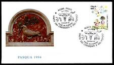 Ostern in Europa. Kinder und Frieden. SoSt. Italien 1994