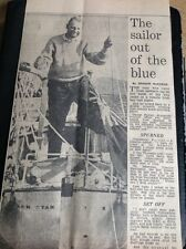 m1-6 Ephemera 1966 Article George Fairley Dawn Star Boat Trip Lands Ireland