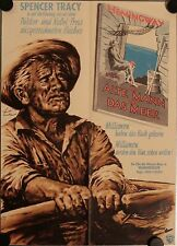 Der Alte Mann und das Meer Filmposter A2 Old Man and the Sea Spencer Tracy Pazos