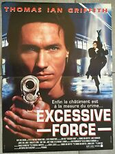 Affiche EXCESSIVE FORCE Jon Hess THOMAS IAN GRIFFITH James Earl Jones 40x60cm*