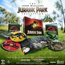JURASSIC PARK + JP2: LOST WORLD 4-CD Box Set JOHN WILLIAMS La-La Land LTD ED New