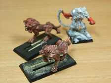 CLASSIC METAL CHAOS BEASTMASTER WITH 2 HOUNDS PART PAINTED (1503)