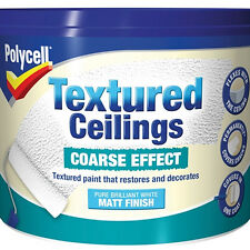 Polycell Textured Ceilings Coarse White 2.5L