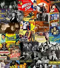 40 CLASSIC FILM NOIR MOVIES ON ONE 16GB USB FLASH DRIVE over 50 hrs! - # LOOK #