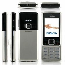 New Condition UNLOCKED Silver NOKIA 6300 MOBILE PHONE GSM CHEAP BAR PHONES