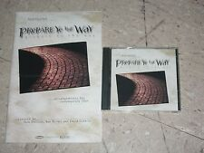 PREPARE YE THE WAY Maranatha Worship Choir Choral Book+Music CD Endicott