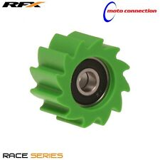 KAWASAKI KXF RFX REPLACEMENT LOWER CHAIN ROLLER 38mm GREEN KXF450 2011