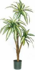 "68"" PALM ARTIFICIAL SILK TREE PLANT ARRANGEMENT DRACENEA TROPICAL BUSH IN POT"