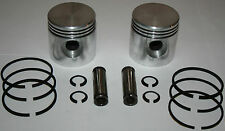 Harley 45 Flathead NEW +.030 piston set 2 Pistons, Rings, Pins, Snap Rings (189)