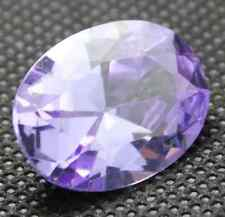 PRETTY UNHEATED 9.1CT 10x14MM PURPLE COLOR CHANGE PINK SAPPHIRE VVS OVAL GEM