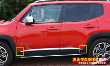 Accessories For Jeep Renegade 2015 2016 Side Door Molding Protector Cover Trim
