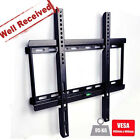 "Wall Mount TV Bracket Slim Flat 23 30 32 37 40 42 46 48 50 55"" LCD LED PLASMA 3D"