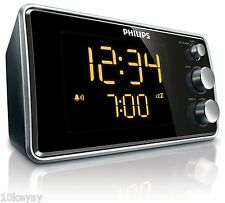 Philips AJ3551/12 (AJ3551)Radio Alarm Clock Led Display FM Tuner Snooze
