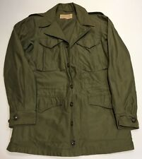 Original WWII U.S. Army M-1943 Combat Field Jacket OD Excellent Condition