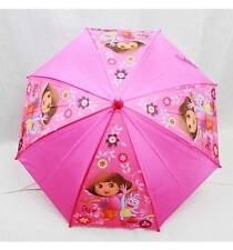 NWT Dora the Explorer Umbrella by Nickelodeon Newest Style Rainy or Sunny Days