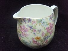 "4 1/2 "" Lord Nelson Ware Chintz Heather Pitcher/Creamer"