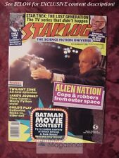 STARLOG November 1988 #136 ALIEN NATION CATHERINE HICKS GRAHAM CHAPMAN