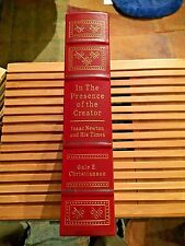 In The Presence Of The Creator: Isaac Newton And His Times, EASTON PRESS