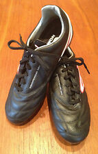NOMIS ~ Rapid Wide Junior Boys Leather Football Soccer Lace Up Boots UK 5 US 5.5