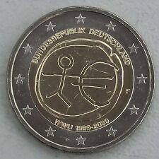 """2 Euro Deutschland F 2009 """"10 Jahre WWU"""" unz"""